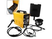 MIG-130 Gas-Less Flux Core Wire Welder Welding Machine Automatic Feed Unit DIY Commercial