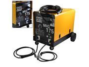 Dual Gas/No Gas 160 AMP MIG-175 230V Flux Core Wire Welding Machine Auto Feeding
