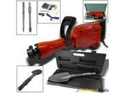 1500 Watts Demolition Jack Hammer Chipping Breaker w/ HD Shovel Scoop Attachment