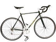 ALTON USA Thunder Road/Racing Bike Shimano Smart 16 Speed 700C. Dark Green/Yellow 550mm DP-780 Frame