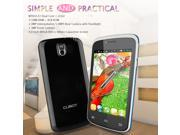 4'' Cubot GT95 3G Smartphone Android 4.2 MTK6572 Dual Core Mobile Phone  4G ROM Dual SIM unlocked Cellphone WIFI Black