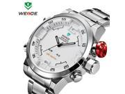 WEIDE Watch Analog-digital LED Display Sporty  Quartz  watch water resistant