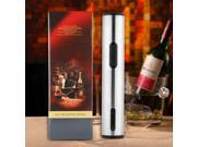 Silver Stainless steel Wine Electric Opener +Foil Seal Cutter gift