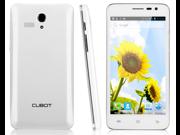 Cubot BOBBY 5.0 Inch QHD Screen 3G Smart Phone MTK6572W Dual Core Dual SIM Cell Phone 4G ROM 5.0MP Camera GPS White