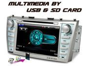 Caska In-dash Car DVD Player Sygic GPS Navigation Bluetooth for Toyota Camry 2008, 2009, 2010, 2011