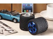 GM001 Portable Wheel Model MIC Wireless Bluetooth 2.1 Speaker Built-in Lithium Battery for iPhone 6 6 Plus 5S 5C 5 4S 4