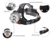 Boruit RJ - 1188C 2 x Cree XML - L2 1200LM 3 Modes Water Resistant 18650 Cycling LED Headlamp