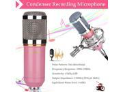 Floureon BM-800 Cardioid Condenser Microphone With Shock Mount For Studios, Recording Studios, Broadcasting Stations, Adage Performances and Computer