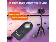 IR Wireless Infrared Shutter Remote Release Control for Canon 60D 400D 450D 550D 600D Rebel XTi XSi T1i DSLR Camera