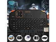 Viboton S1 3-in-1 2.4GHz Wireless Keyboard + Air Mouse + Remote Control with Touchpad for  PC, Pad, Andriod / Google TV Box, Xbox360, PS3, HTPC / IPTV, etc.