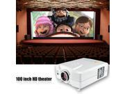 New CL312A 2200 lumens 1080P HD Home theater LED Projector USB/ Analog TV/HDMI/AV  800*600 built-in Speakers for TV laptop DVD iPad and so on