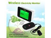 HA102 Wireless Electricity Monitor Power Meter Energy Monitor Display real-time cost/GHG emission/power consumption