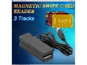 3 Track USB Magnetic Credit Card Reader for POS, Banking, Loyalty, Access Control and other applications