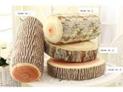 Popular Decorative Wood Columns / Log pillow/Green log pillow/Travel Cushion/Tree pillow/Kids pillow/Creative gift