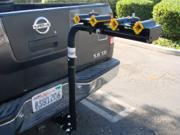 "Heavy Duty 4 Bike Swing Down 2"" Hitch Mount Carrier Bicycle Rack Car/Truck/SUV"