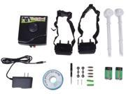 Underground Waterproof 2 Shock Collar Electric 2 Dog Pet Fence Fencing System