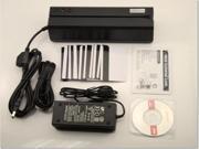 MSR606 Magnetic Stripe Card Reader Writer Encoder Swipe For POS Compatible with MSR206 + 20 Cards