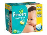 Pampers Baby Dry Size 2 Diapers Super Economy Pack - 192 Count
