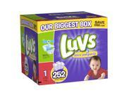 Luvs Size 1 Diaper OMG Jr Pack - 252 Count
