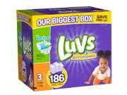 Luvs Size 3 Ultra Leakguards Diapers - 186 Count