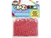 The Cra-Z-Art Shimmer 'N Sparkle Cra-Z-Loom Fashion Colors Rubber - Dark Red