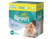 Pampers Baby Fresh Baby Wipes Refill - 504 Count