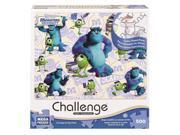 Disney Challenge Series Puzzle 500-Piece - Monsters University