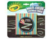 Crayola Washable Multicolor Sidewalk Chalk