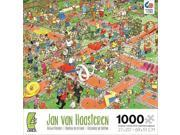 Crowd Pleasers Cartoon Puzzle 1000-Piece - Crazy Golf