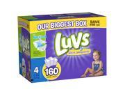 Luvs Size 4 Ultra Leakguards Diapers - 160 Count