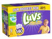 Luvs Size 5 Ultra Leakguards Diapers - 140 Count