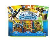 Skylanders Spyro's Adventure Character 3-P - Drobot/Flameslinger/Stump Smash