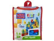 Mega Bloks First Builders Build and Learn - ABC Spell