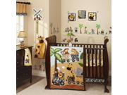 Lambs & Ivy Safari Express 9 Piece Bedding Set