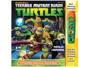 Flashlight Adventure Book Teenage Mutant Ninja Turtles