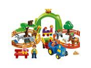 Playmobil 123 Playset - Large Zoo
