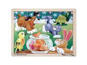 Melissa & Doug Jigsaw Puzzle 12-Piece - Pets