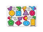 Melissa & Doug Classic Peg Puzzle - Shapes