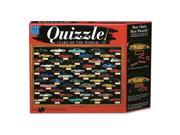 Quizzle - Cars of the World Jigsaw Puzzle: 850 Pieces