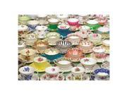 Tea Cups Puzzle: 1000 Pieces