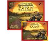 Settlers of Catan 4th Edition Bundle-Settlers plus 5-6