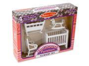 Melissa & Doug Dollhouse Nursery Furniture Set