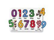 Melissa & Doug Classic Peg Puzzle - See Inside Numbers