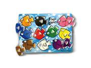 Melissa & Doug Classic Peg Puzzle - Fish Colors Mix 'n Match