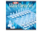 Ideal Glass Chess Set