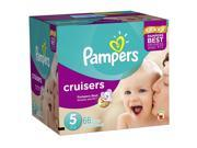 Pampers Cruisers Size 5 Diapers Super Pack - 66 Count