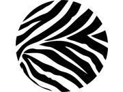 WallPops Wall Decals - Go Wild Dots - Zebra - Black - 8-Piece
