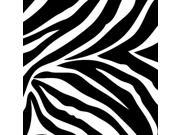 WallPops Wall Decals - Go Wild Blox - Zebra - Black - 8-Piece