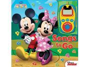 Digital Music Player Mickey & Minnie Clubhouse : Songs to Go