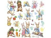 Peter Rabbit Peel and Stick Wall Decals